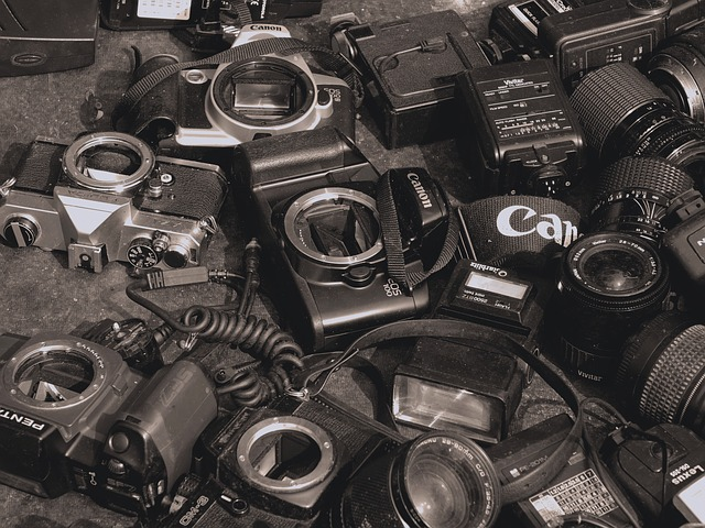 Free photo: Cameras, Used, Old, Photography - Free Image on ...