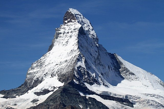 free photo matterhorn zermatt switzerland free image. Black Bedroom Furniture Sets. Home Design Ideas