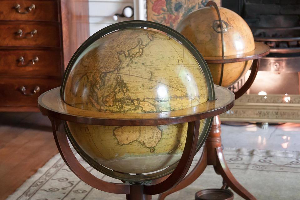 Nieuw Globe Antieke Kaart Van De Wereld - Gratis foto op Pixabay YS-48