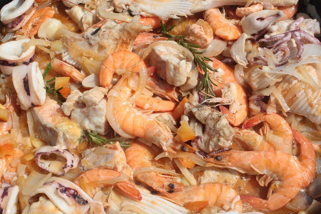 Все виды морепродуктов с фотографиями