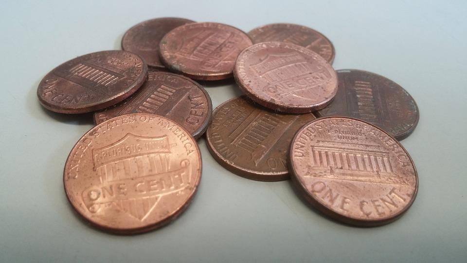 Pennies Penny Coins - Free photo on Pixabay