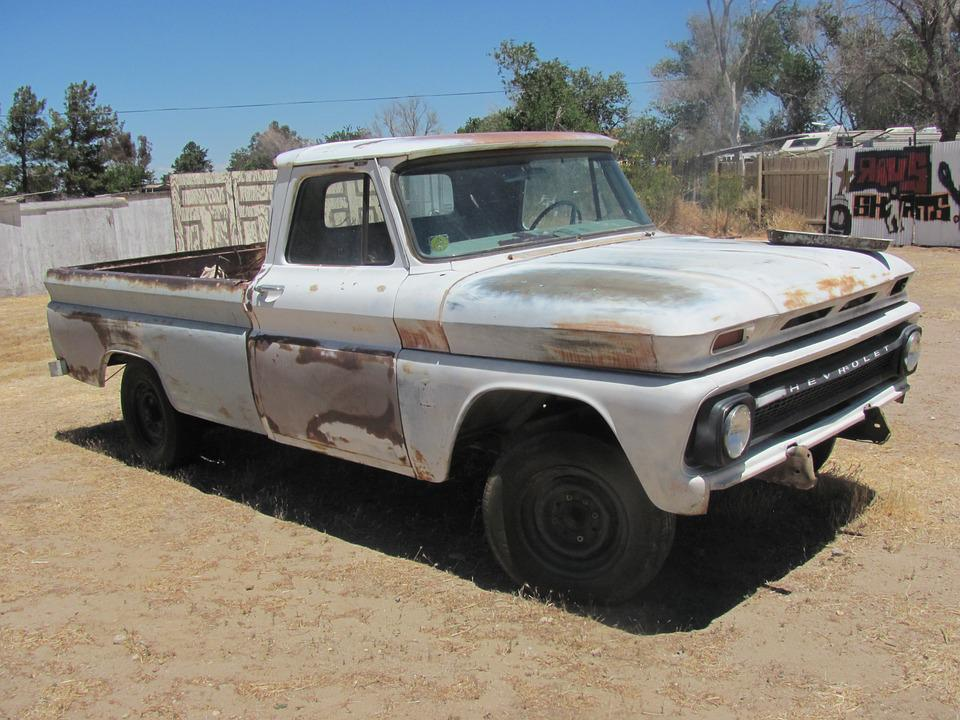 Gratis Foto Chevy Pick Up Auto Oldtimer 64 Gratis