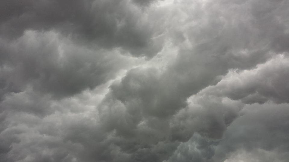 Storm Clouds, Clouds, Thunderstorm, Grey, Sky, Gloomy