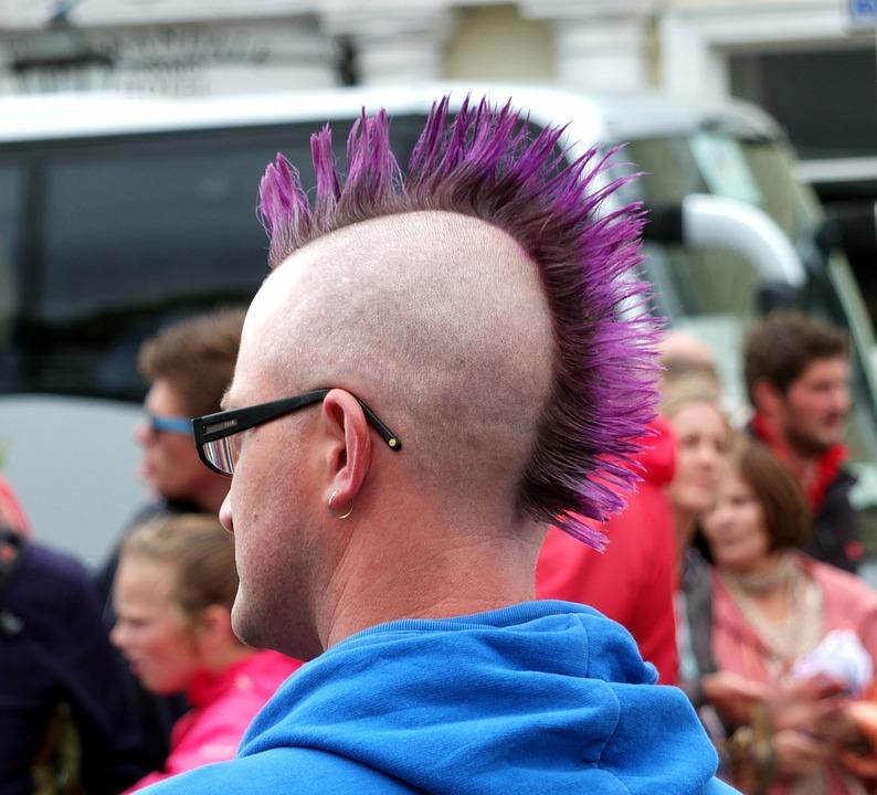 Frisur Kopf Punk Kostenloses Foto Auf Pixabay