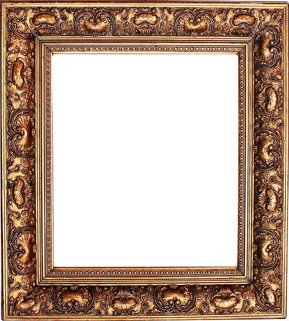 Free photo: Picture Frame, Stucco Frame, Frame - Free ...