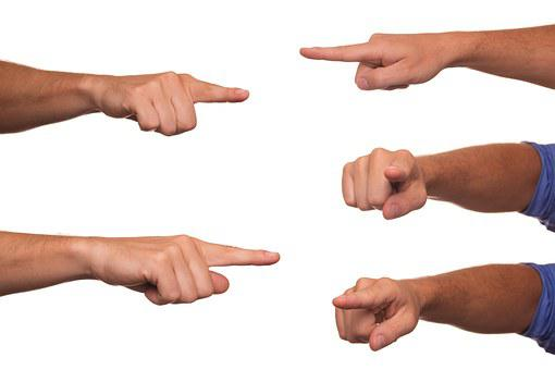 Designate, Poking, Finger, Indicate