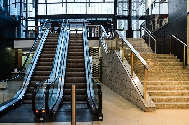 Free Photo Stairs Mobile Shopping Mall Free Image On