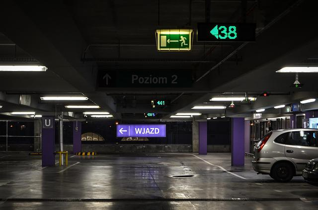 Free Photo Underground Parking Sign Trip Free Image