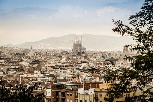 Panorama, The Cathedral, Sagrada Familia