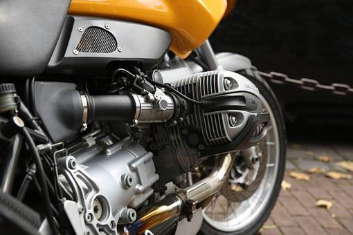 Motorcycle, Motor, Cylinder, Technology