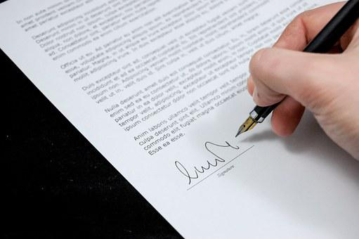 Document, Agreement, Documents, Sign