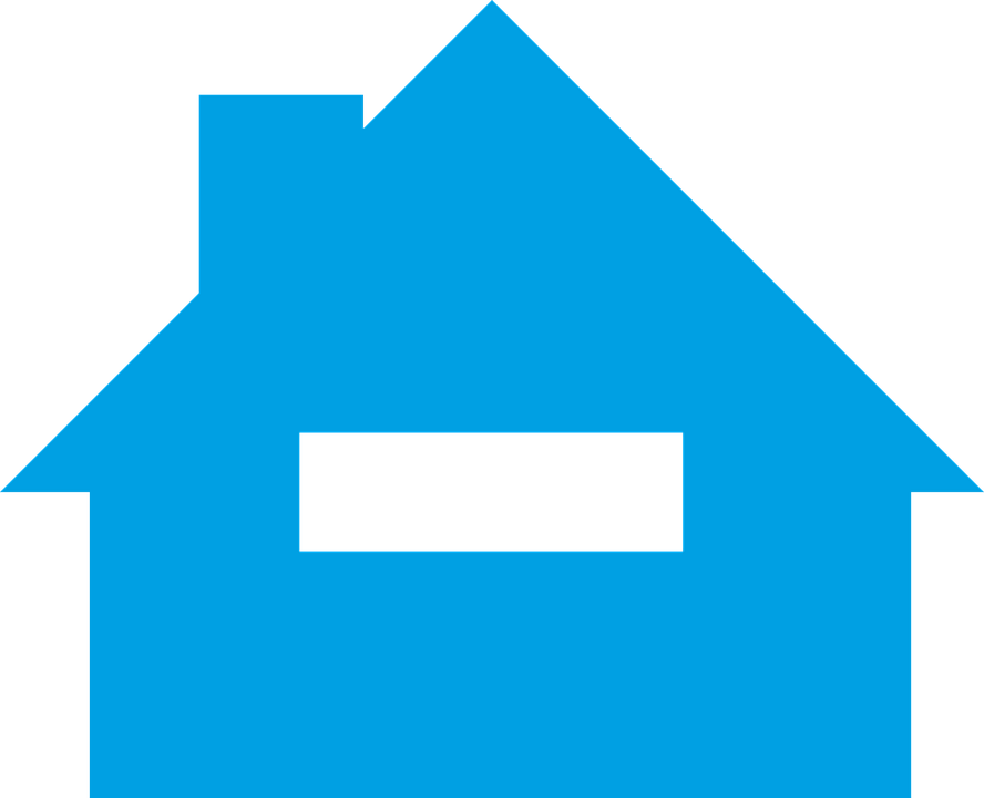 House Blue Home · Free vector graphic on Pixabay House Graphic Png