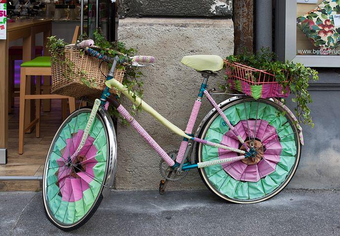 Как украсить колесо велосипеда своими руками 77