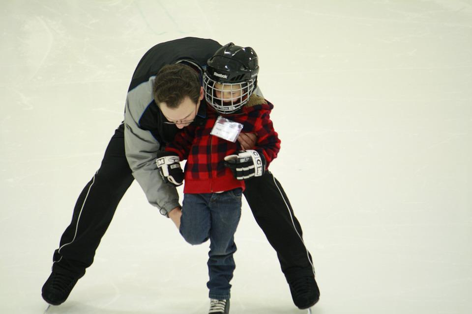 Free photo: Learn To Skate, Skating, Lessons