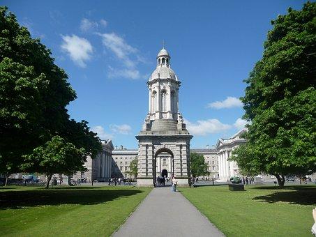 Dublin, Trinity, Collège, L'Architecture