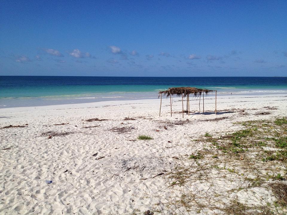 Moçambique, Praia, Oceano, África, Baía, Água, Mar