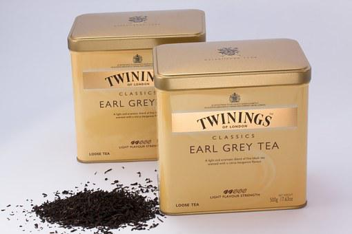 Black Tea, Tea Tins, Tee, Earl Gray