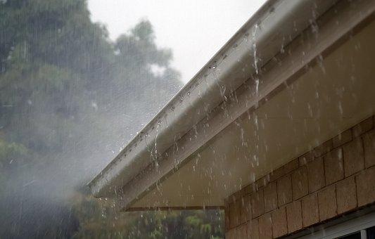 Rain, Water, Roof, Gutter, Storm, Wet