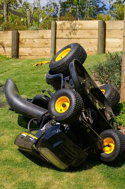 Free Photo Mower Lawn Accident Ride On Free Image On