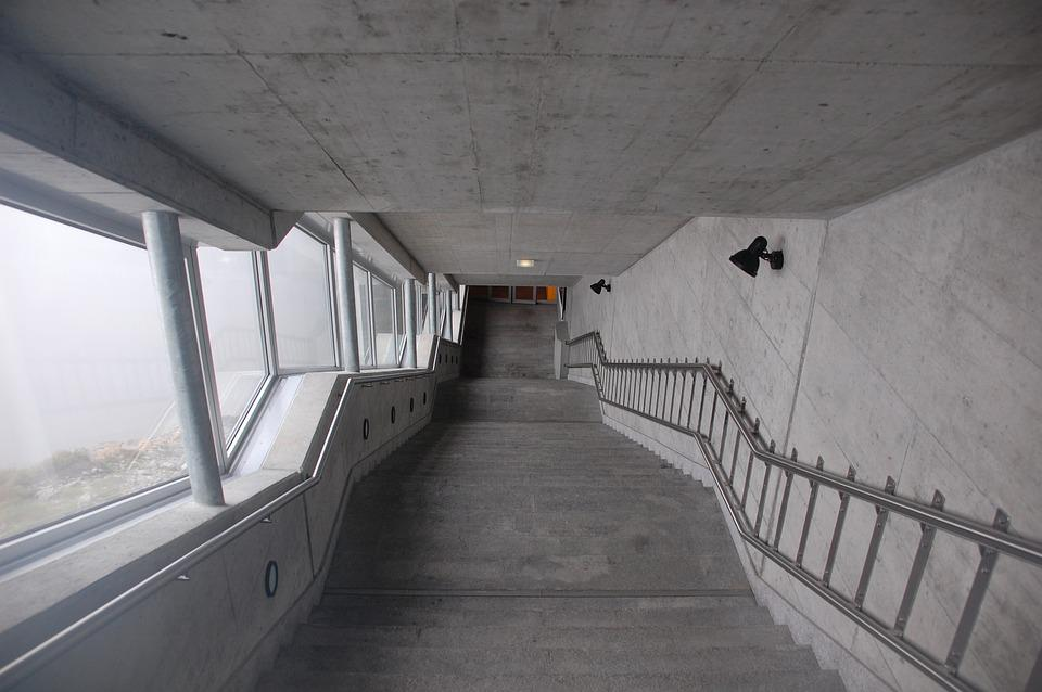 kostenloses foto treppe beton tunnel abw rts kostenloses bild auf pixabay 433537. Black Bedroom Furniture Sets. Home Design Ideas
