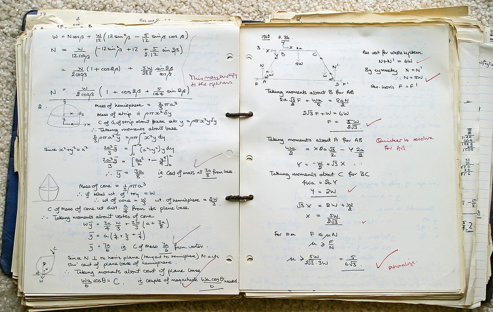 School Book Exercise · Free photo on Pixabay