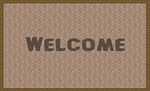 welcome, mat, rug