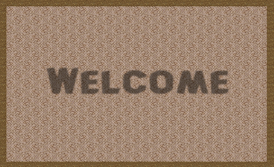 Welcome, Mat, Rug, Doormat, Greeting