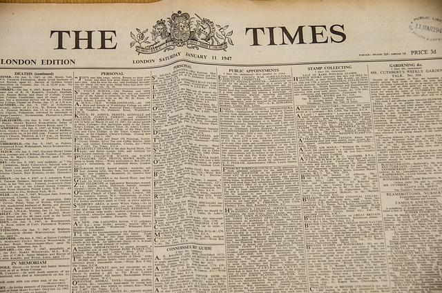 Newspaper times