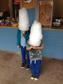 Cotton Candy Coneheads White Heads Childre
