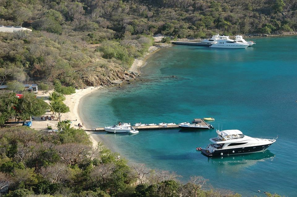 Bay, British Virgin Islands, Yacht, Boats, Ocean, Sea