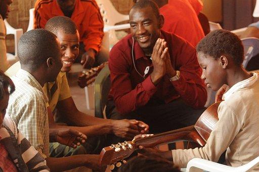 Guitar Lesson, School Of Music, Smile