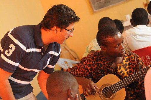 Profesor, Músico, Música, Instrumento