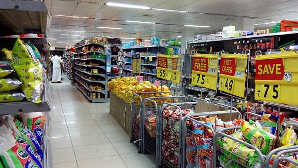 Supermarket, Shopping, Sales, Store, Buy