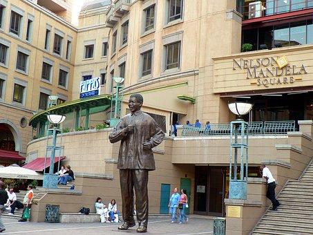 Johannesburg Rpa South Africa City A Statu