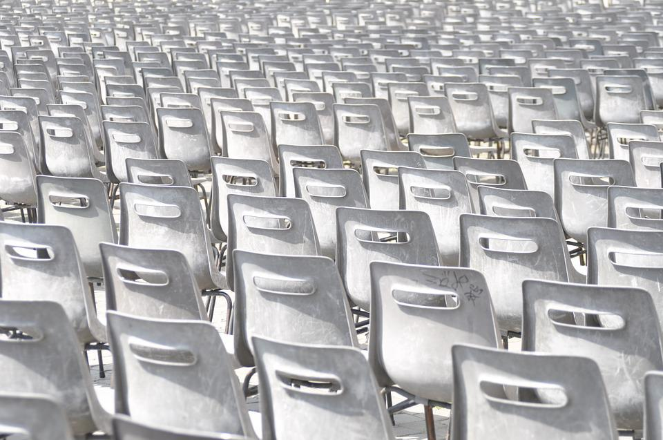 Chairs, Rows Of Seats, Group, Meeting, Seminar, Speech