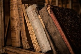 Old Books, Book, Old, Library, Education
