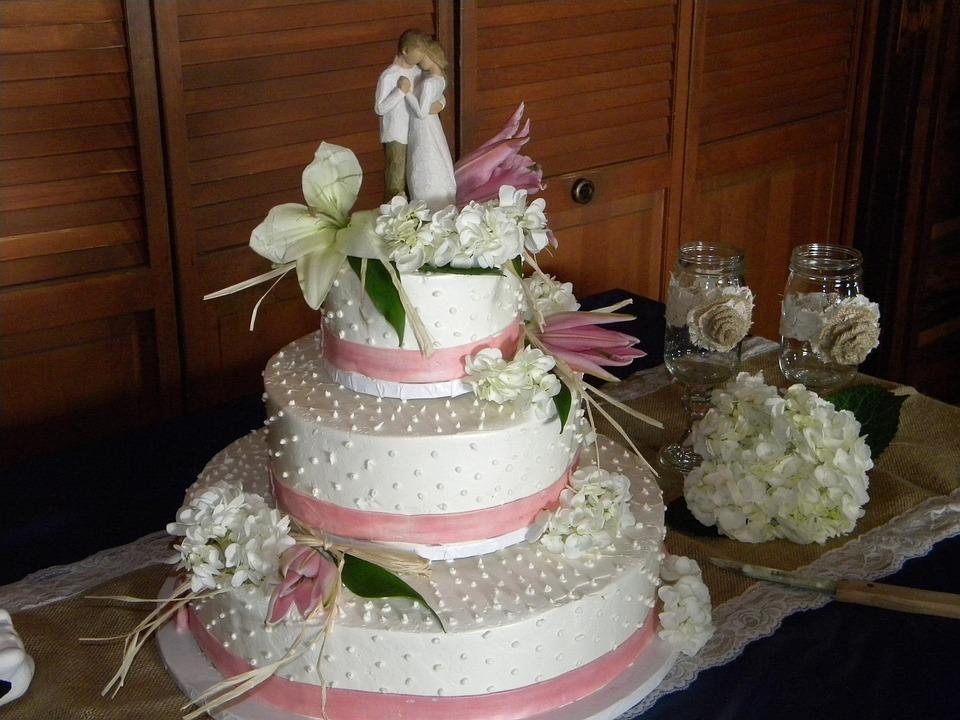 Hochzeitstorte Hochzeit Kuchen Kostenloses Foto Auf Pixabay