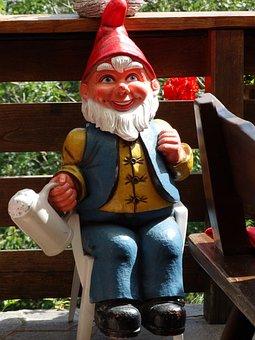 Garden Gnome, Dwarf, Garden Figurines