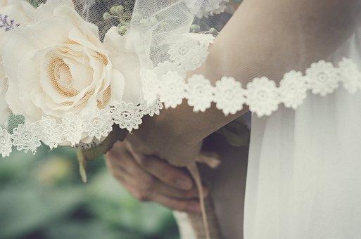 Wedding, Love, White, Bride, Romantic