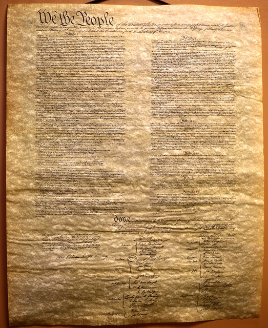 Free Photo Old Transcript Constitution Free Image On