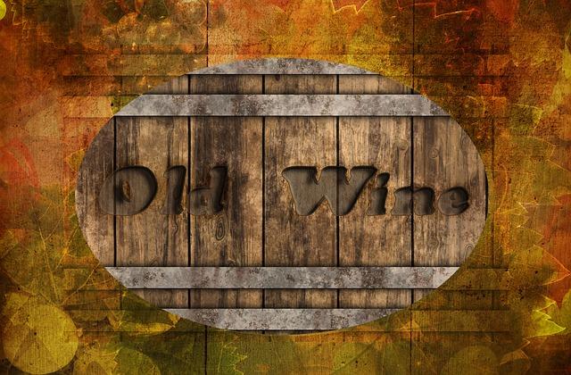 free illustration wine barrel background autumn free