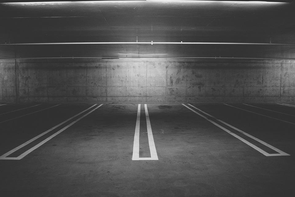 駐車場、駐車場、駐車場、デッキ、ガレージ、市