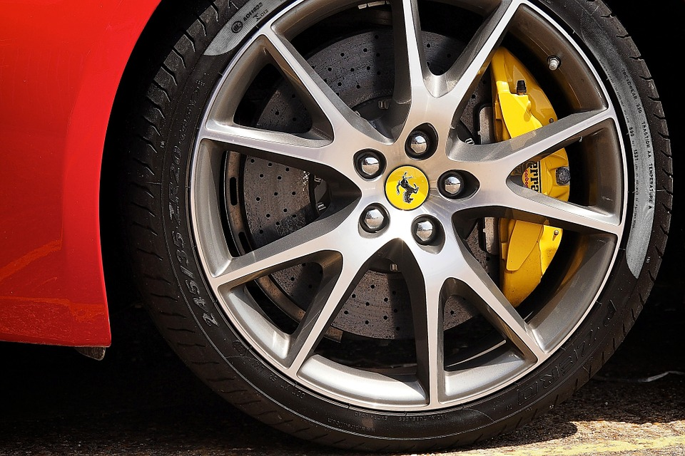 Ferrari, Rim, Alloy Rim, Wheel Rim, Wheel, Alloy Wheel