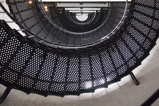 Spiral Staircase, Stairs, Lighthouse