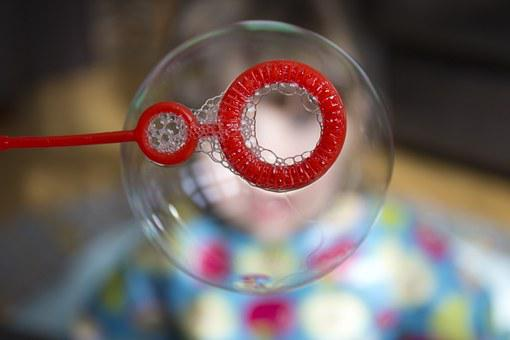 Soap Bubble, Bubble, Playing, Child