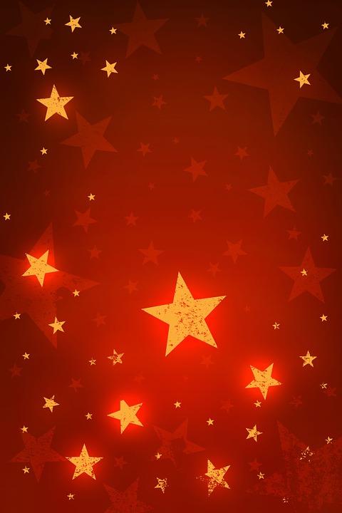Gratis illustratie sterren kerst x mas abstract - Image d etoile de noel ...