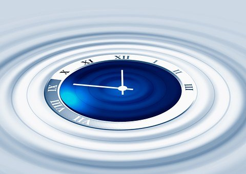Relógio, Onda, Período, Tempo, Medo