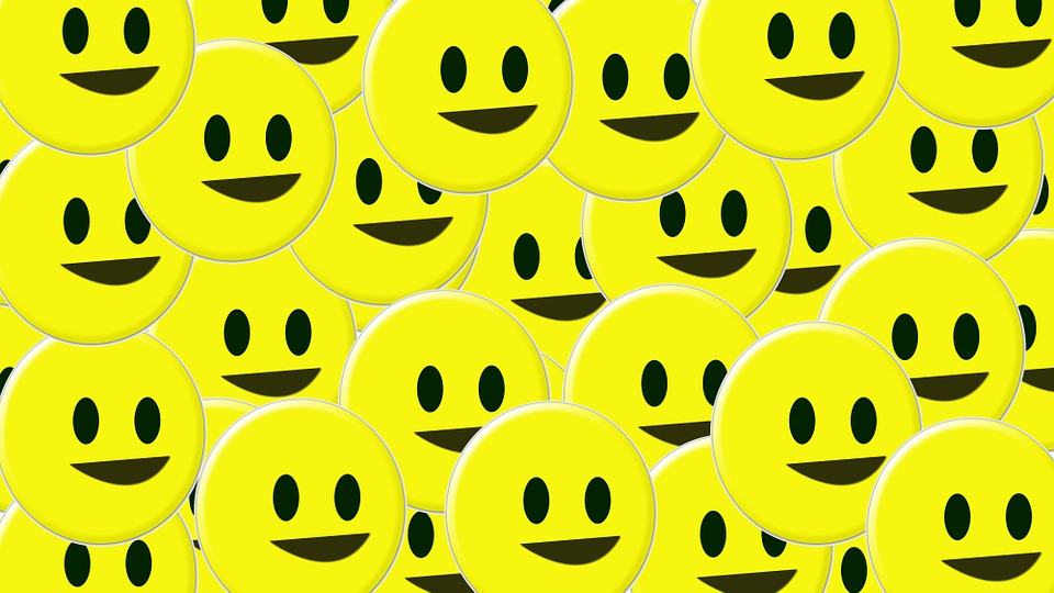 funny smiling faces