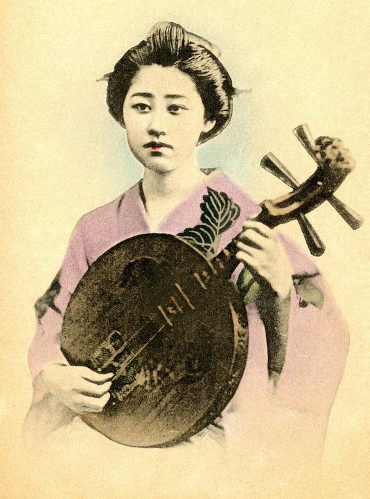 retro geisha pics