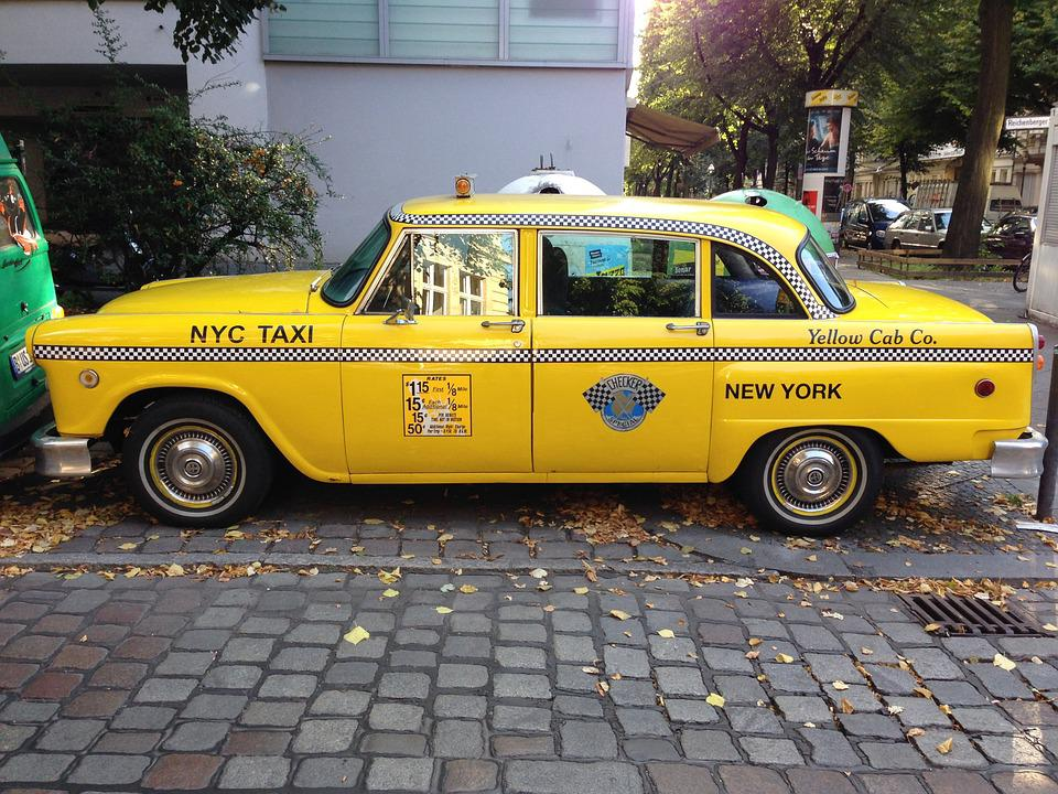 Free photo nyc taxi taxi berlin yellow cab free for Schuhschrank yellow cab